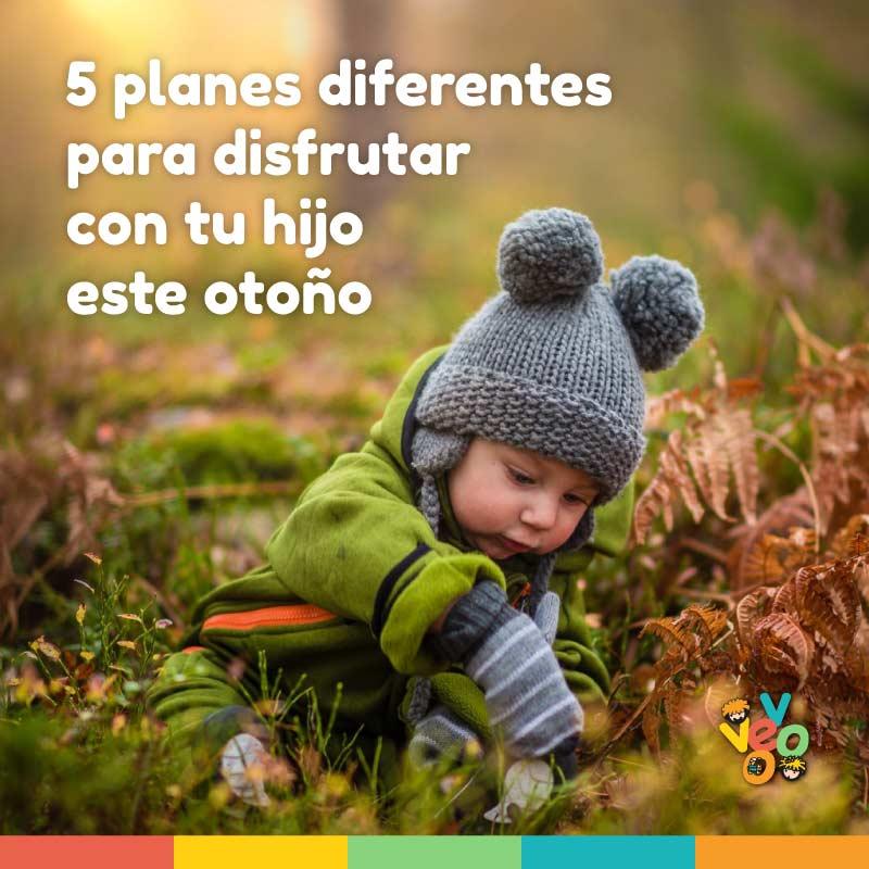 5 planes diferentes para disfrutar con tu hijo este otoño