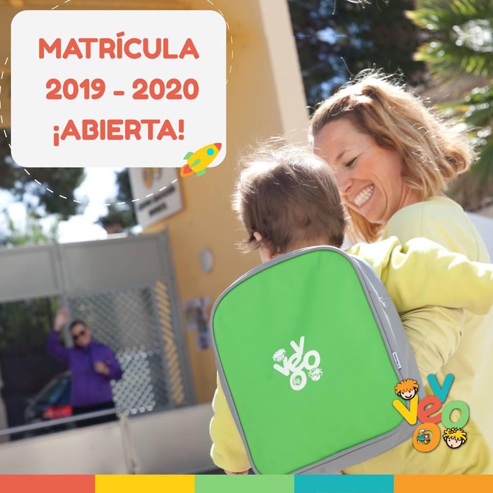 ¡Matrícula 2019 / 2020 abierta!